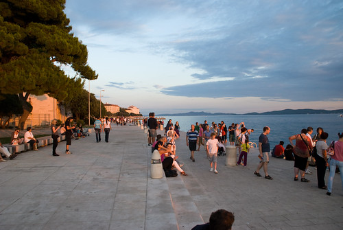 The land of a thousand islands of Croatia