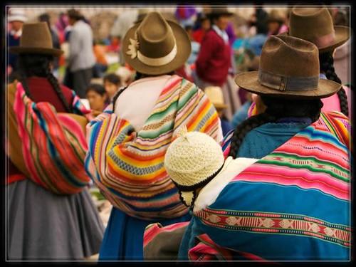 chinchero-market,Perou,Indiens,vallee sacree