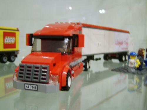 'Lloyds Toys' Lorry On Display In The Lloyds Toys And Models Store In Weston-super-Mare