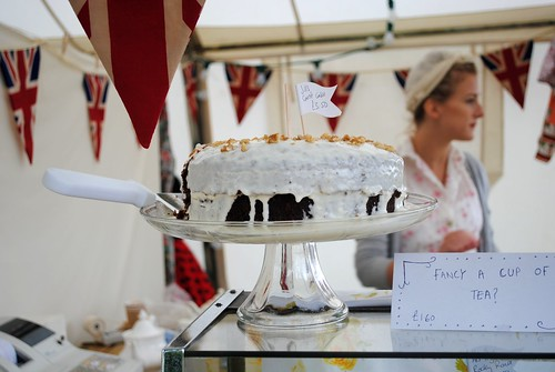Slice of cake? at Vintage at Goodwood