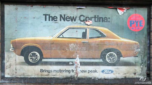 OLD 1971 FORD CORTINA MK3 ADVERT