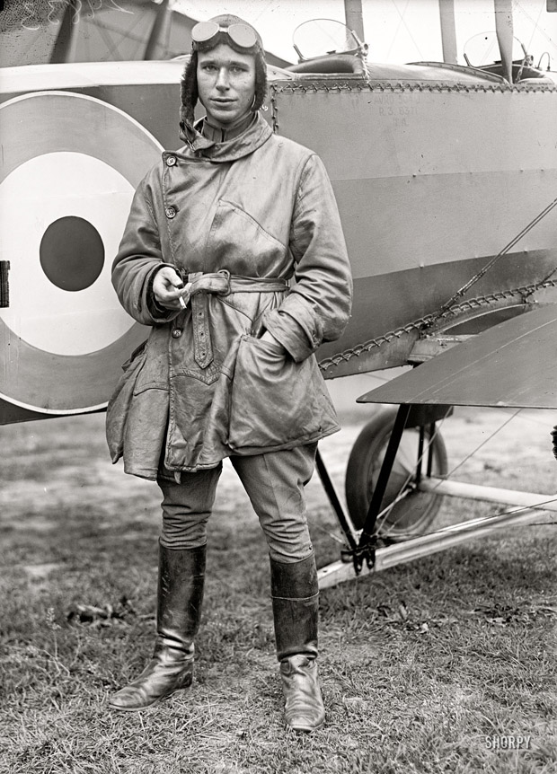 1917 airmail pilot