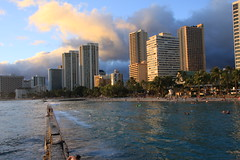 Waikiki & the city of Honolulu