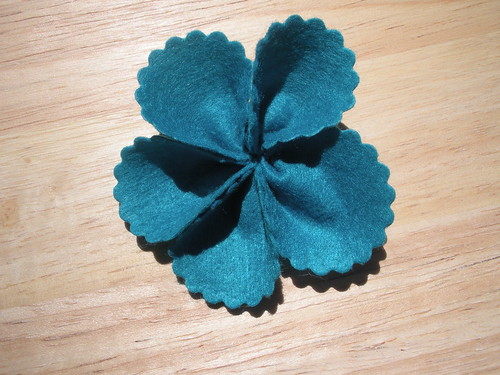 Felt Flower Tutorial 7