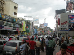 Bangalore Street Crowd