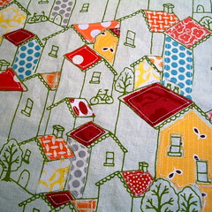 Urban Home Swap (Sewing Geek) Tags: urban ink tape swap spindle fmf ticker