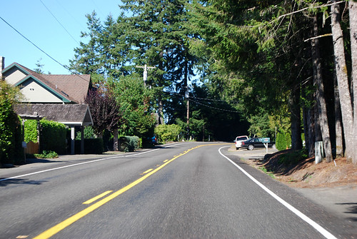 SR 106 west of Twanoh State Park