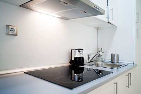 Mayor 24 apartment-kitchen. Madrid