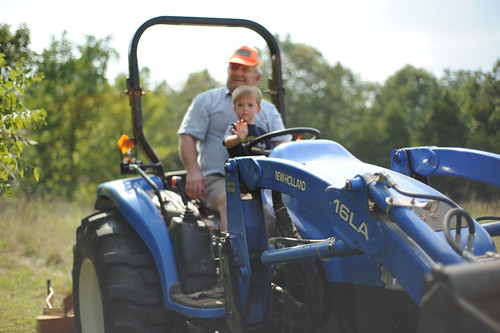 A Boy, His Grandpa & A Tractor