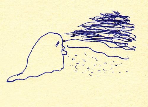 海の妖怪 また来年…