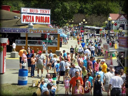 Iowans at the fair