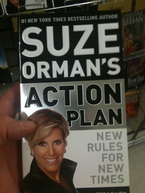 Suze Orman's book: Action Plan - New rules for new times