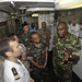 AFRICOM CJTF-HOA Coalition Officers Pay Visit to French Warship