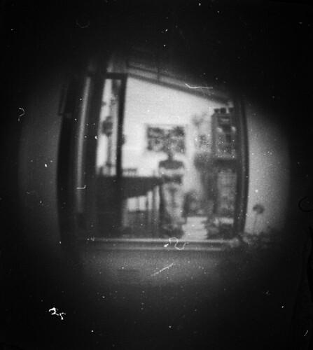 Pinhole selfportrait