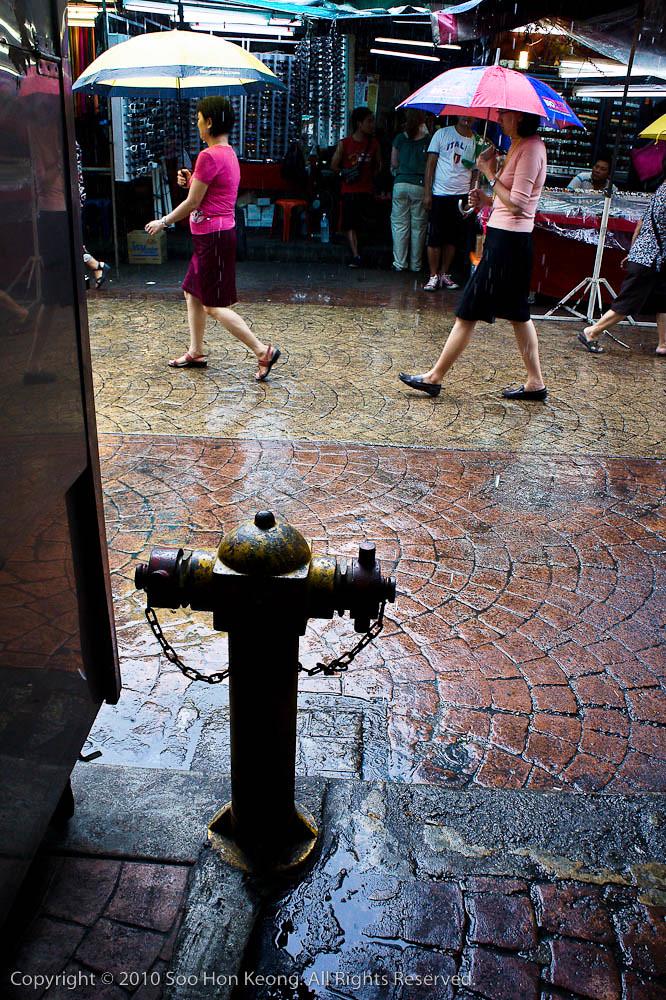 Rainy Day @ Petaling Street, KL, Malaysia