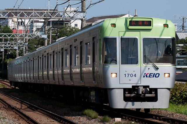 京王電鉄井の頭線1000系1004F 出場試運転