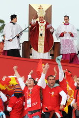 World Youth Day in SYDNEY with Pope Benedict X...