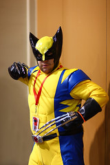 Wolverine 2010 Phoenix Comicon (gbrummett) Tags: arizona portrait purple xmen cosplayer wolverineandthexmen canonef85mmf12liiusmlens canon5dmarkiicamera grantbrummett azavengers 2010phoenixcomiccon 2010phoenixcomicon arizonaavengers arizonaavengersarizonasmightiestheroes