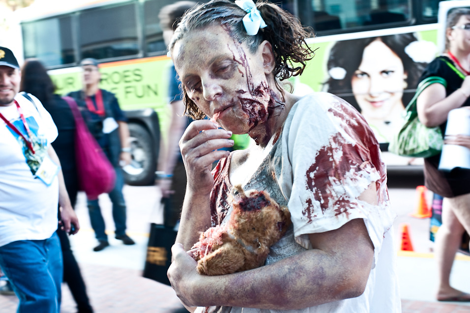 Little Walking Dead Girl