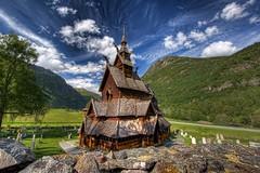 Borgund Stavkirke (Mariusz Petelicki) Tags: norway norge hdr kościół borgund 3xp norwegia skandynawia borgundstavkirke mariuszpetelicki klepkowy