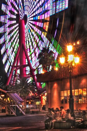 Ferris wheel Kobe /HDR