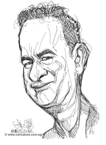 Schoolism - Assignment 1 - Sketch 1 of Tom Hanks