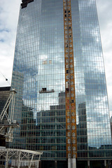 Mirror Mirror in the sky.. (Bokimon-) Tags: calgary construction downtown skyscrapers highrise eap curtainwall