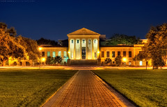 Law School - Louisiana State University (todd landry photography) Tags: school nikon louisiana university state lsu law hdr d90 hdratnight