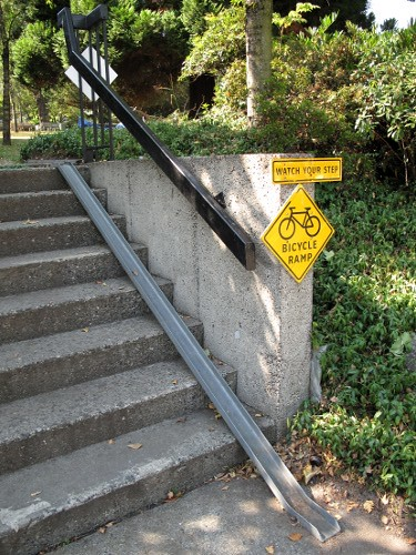 bicycle ramp