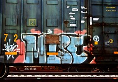 Mise  (mightyquinninwky) Tags: railroad train graffiti tag graf stickers tracks railway tags tagged railcar rails weathered boxcar graff graphiti freight gravel plywood trainart rollingstock fr8 railart spraypaintart mise freightcar movingart paintedsteel boxcarart platec freightart wafflecar taggedboxcar paintedboxcar  paintedfreight taggedrailcar taggedfreight mise