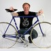 Rik Van Looy's bike + idiot