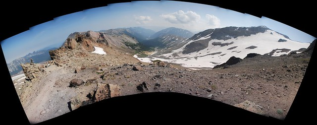 St. Elmo Pass panorama, Mount Rainier National Park, WA