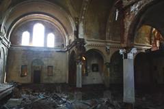 The Floorless Church (The Cleveland Kid) Tags: ohio building brick abandoned church ruins god cleveland faith jesus walls christianity stjosephbyzantinecatholicchurch