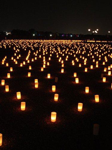 平城宮跡夏季フェア「光と灯りのフェア」-18