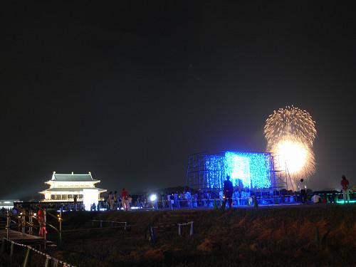 平城宮跡夏季フェア「光と灯りのフェア」-12