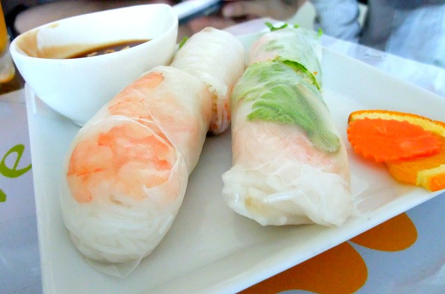 Shrimp Roll wrapped with Rice Crepe