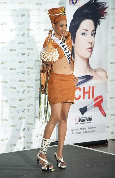 National Costume of Miss Tanzania