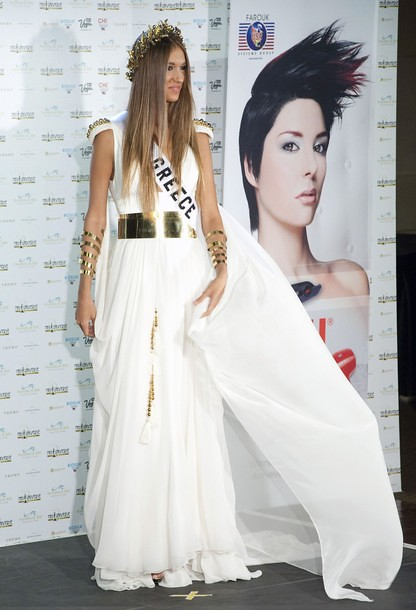 National Costume of Miss Greece