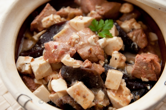 Nam Yee Pork with Black Fungus & Tofu