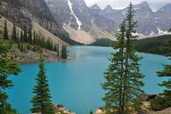 Lake Moraine (Missy2004) Tags: lake canada alberta moraine banffnationalpark nikond90 beautifulworldchallenges nikkorafs18105mm3556ged