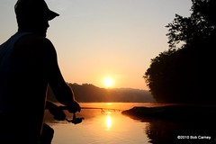 Early morning on the Potomac (gotbob) Tags: sunrise fishing potomac slidr