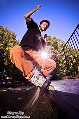 Mihaita Burdusel - miniramp session (Bogdan Zop) Tags: park sport canon sigma fisheye skate inline aggressive rolling strobe 10mm 50d