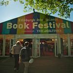 Entrance to Book Festival
