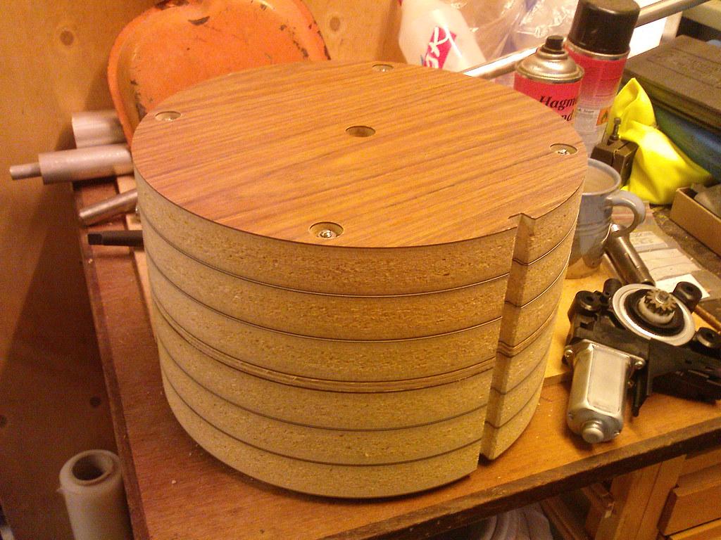 Drum carder Prototype
