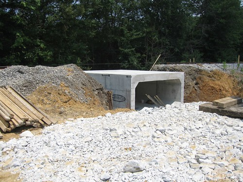 Box Culvert Finished Culvert