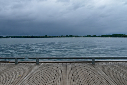 Toronto Island in the Distance