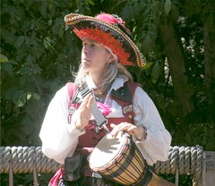 Babalu (Stanley Zimny) Tags: music woman girl hat drums costume renaissancefaire babalu