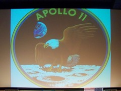 Apollo 11 patch (Air Force One) Tags: moon luna patch aq 2010 apollo11 tagliacozzo moondream avezzano terrediconfine cinemamultisalaastra ilcielodiargoli