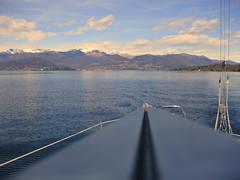 Point of view (Sampo_sail) Tags: lago barca maggiore vela boma