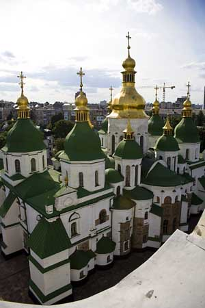St Sophia's from Bell Tower